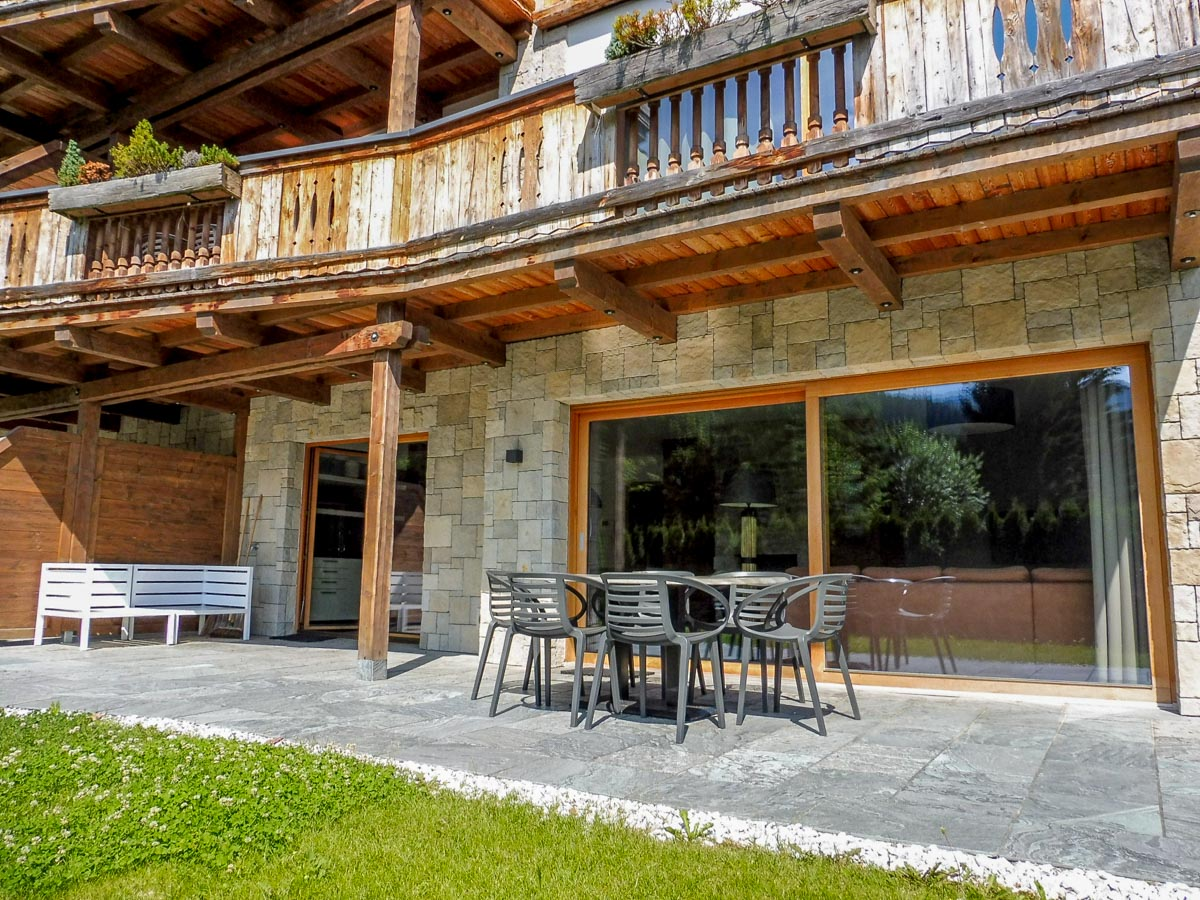 Sitzgarnitur Apartment 2 Mountain Lodge Leogang