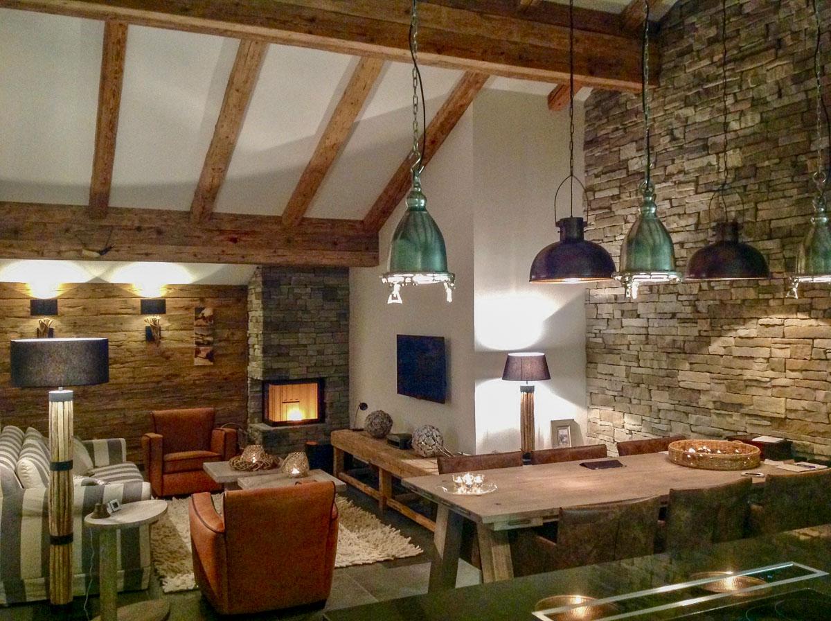 Relaxen im gemütlichen Penthouse der Mountain Lodge Leogang