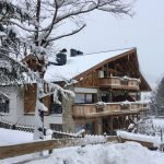 Schnee Wintertag Mountain Lodge Leogang