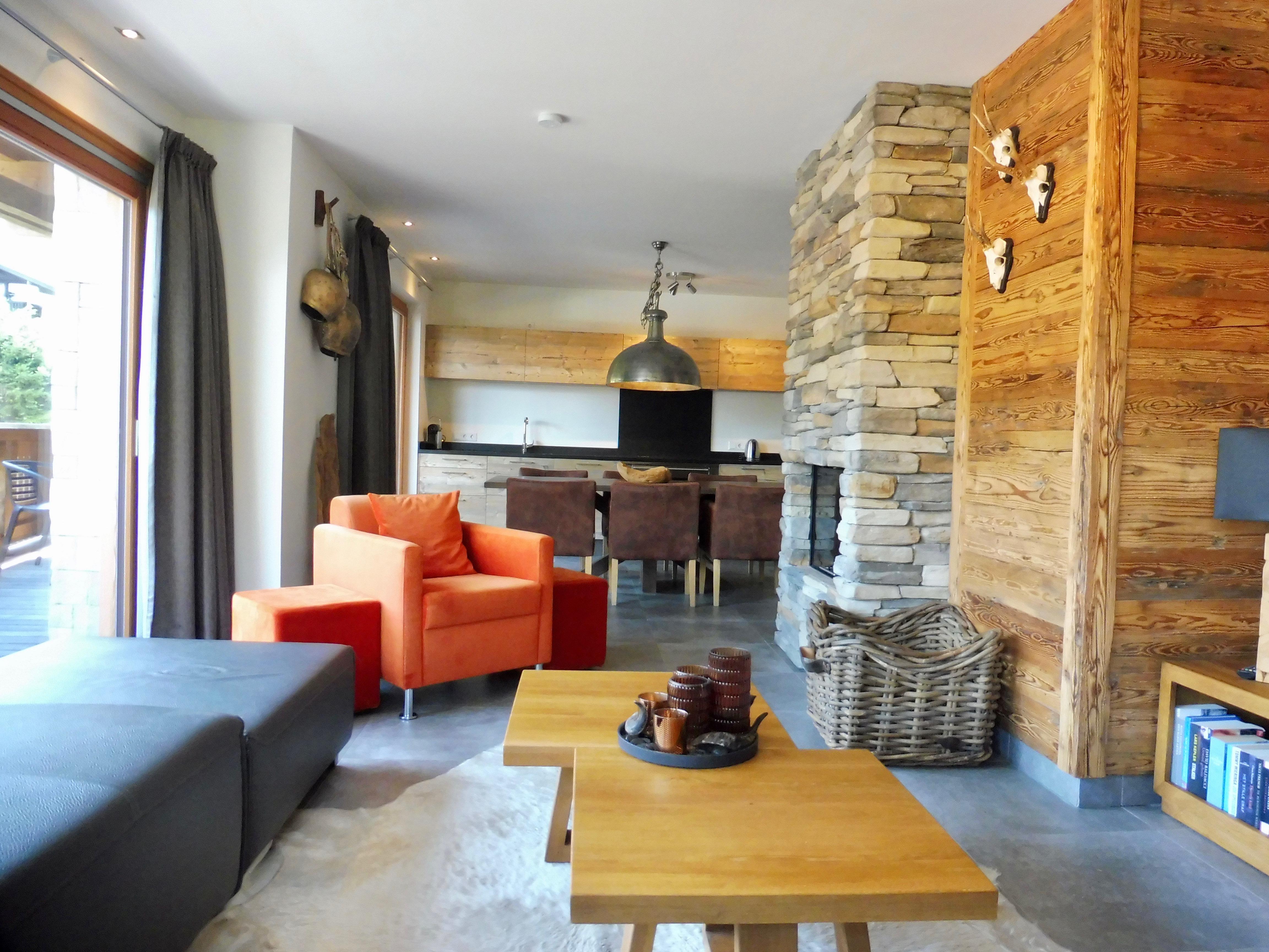 Gemütlichkeit im Apartment 4 der Mountain Lodge Leogang