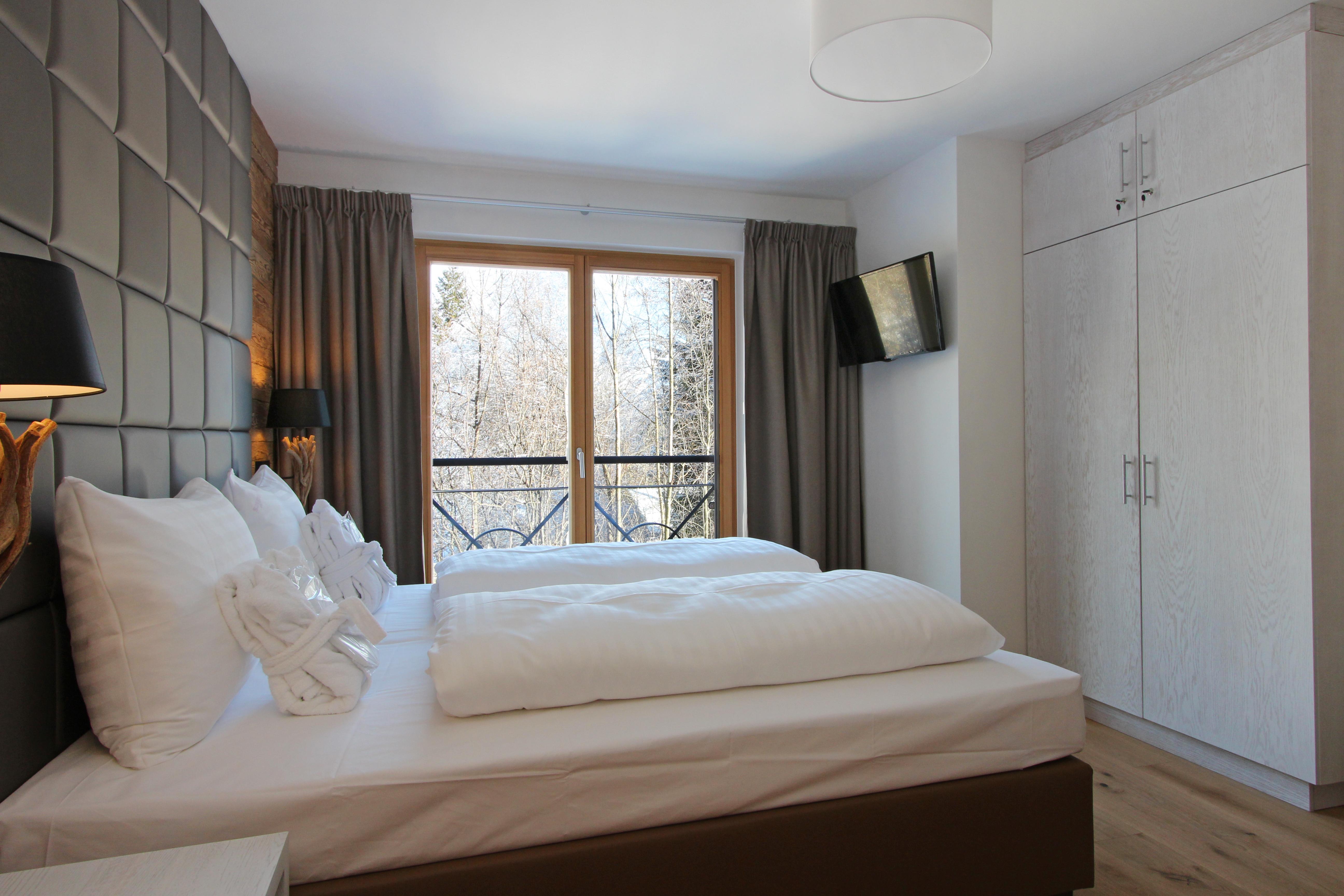 Bett Luxus Lodge 2 Mountain Lodge Leogang
