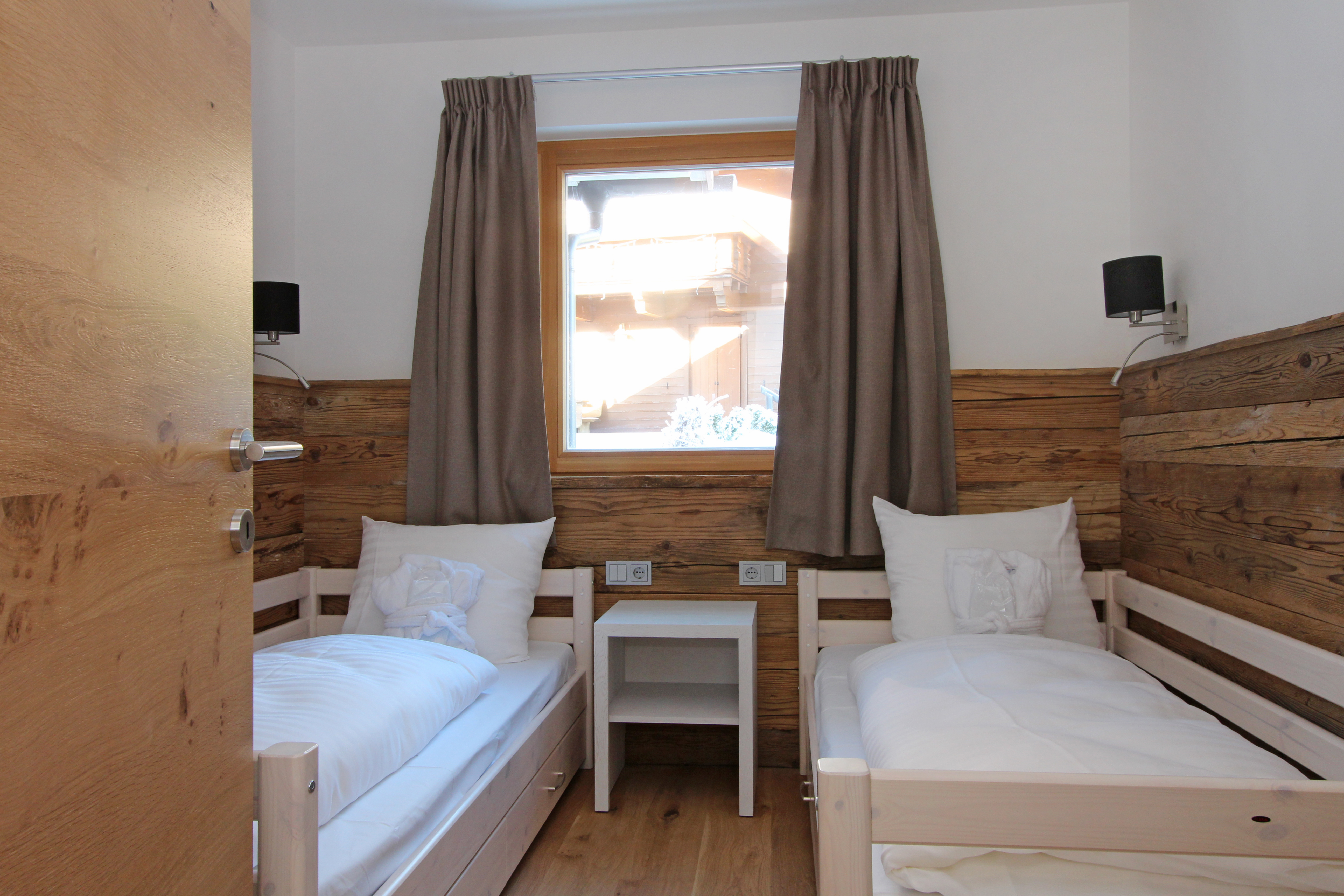 Schlafzimmer Lodge 2 - Mountain Lodge Leogang