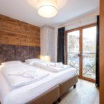 Zimmer im Apartment 3 der Mountain Lodge Leogang