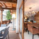 Balkon der Mountain Lodge Leogang - Apartment 3
